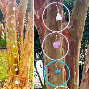 Huge Healing Crystal Chakra Catchers